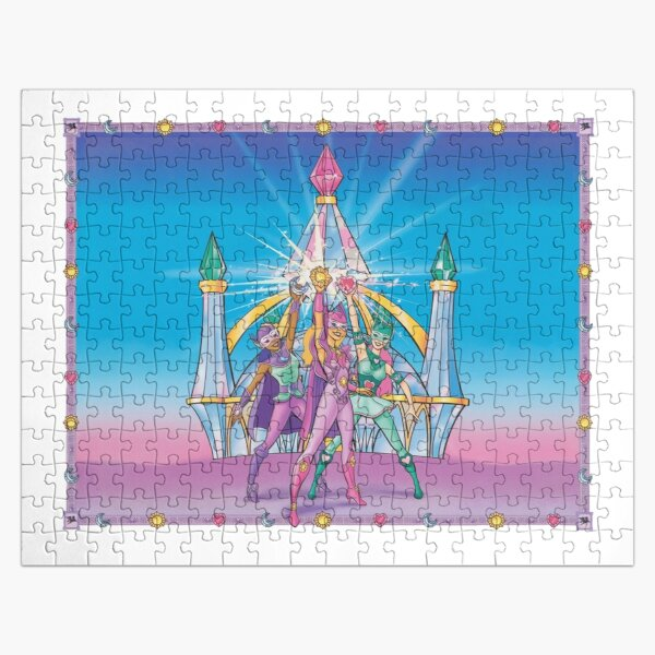 Jewel Riders Classic Jigsaw Puzzle