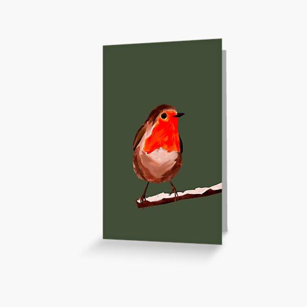 Blank robin card Greeting Card