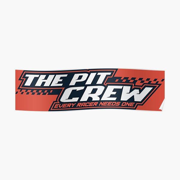 ThePitCrew sim racing community logo Poster