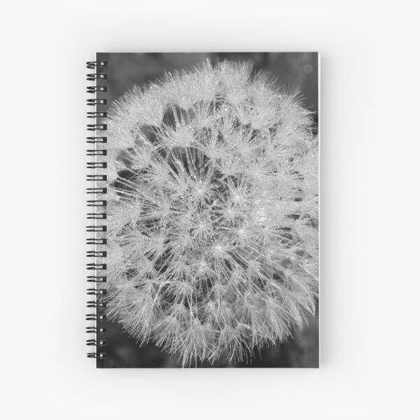 Dewy Dandelion Spiral Notebook