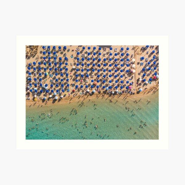Summer Paradise - Protaras Art Print