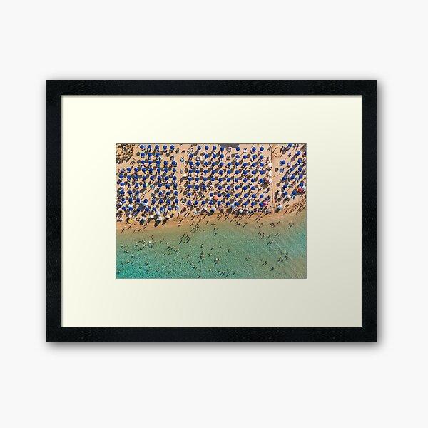 Summer Paradise - Protaras Framed Art Print