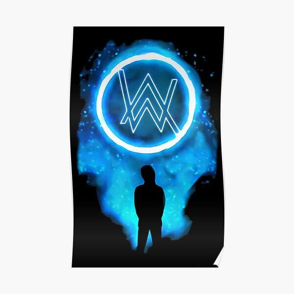 Alan Walker Glow Poster