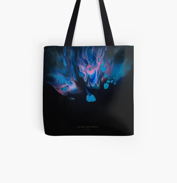 In The Beginning All Over Print Tote Bag