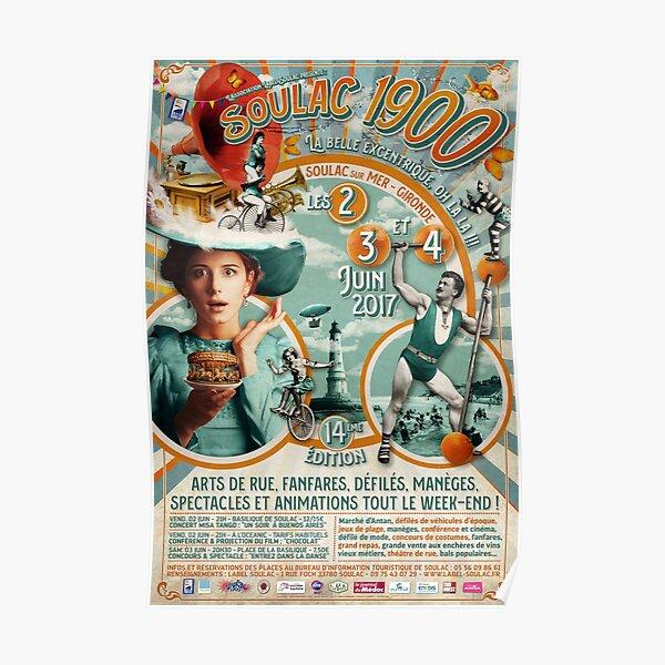 Soulac 1900 - 14ème édition - 2017 Poster