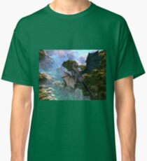 Dragon over Seascape Classic T-Shirt