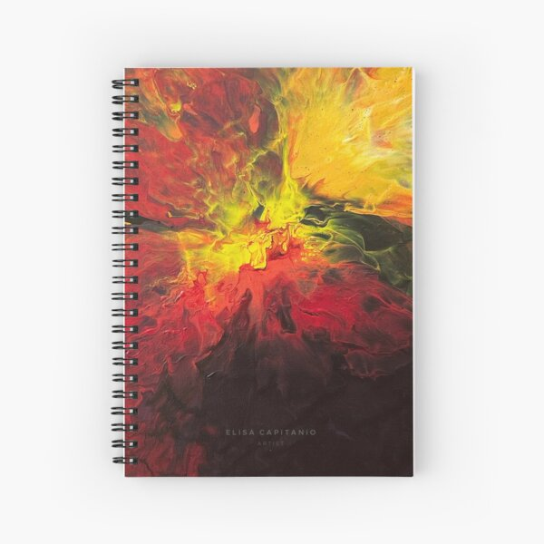 This Girl is on Fire Spiral Notebook