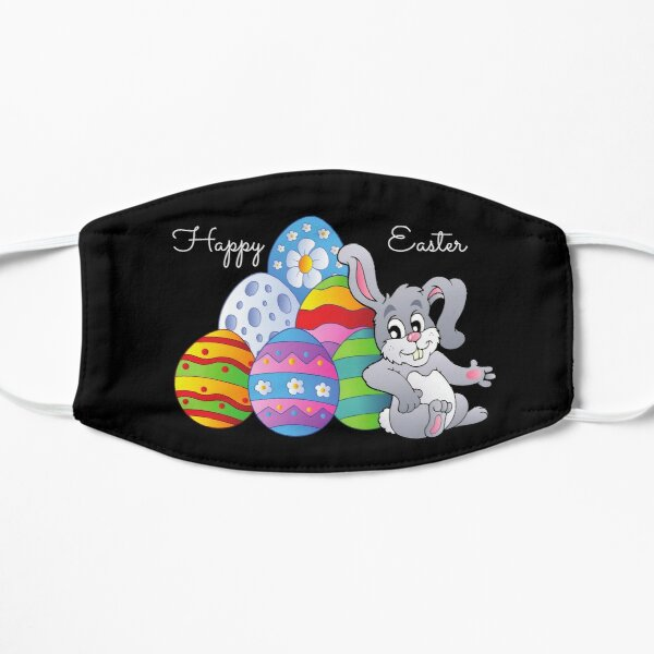 Happy Sweet Easter Candy Love and kisses, and funny bunny Mask