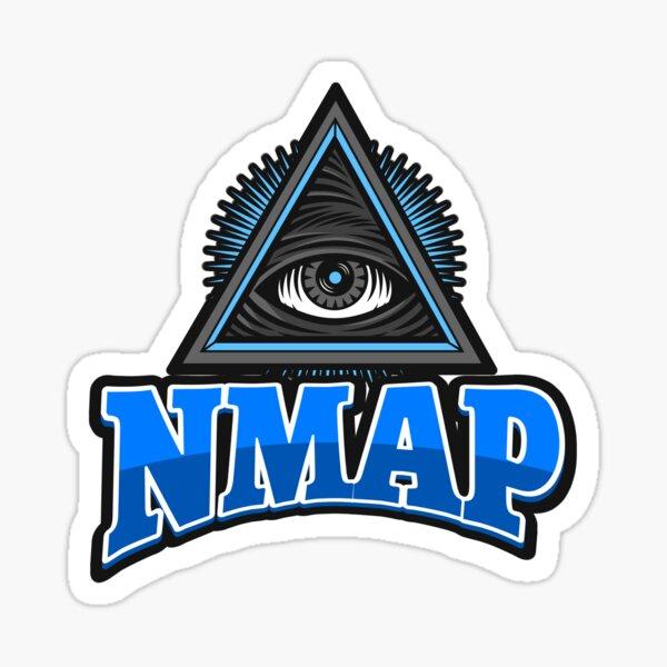 Cyber security - Hacker - NMAP Sticker