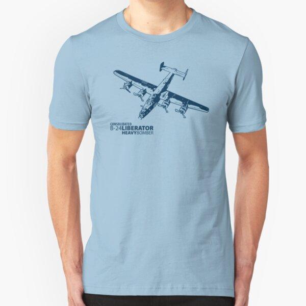 B-24 Liberator Slim Fit T-Shirt