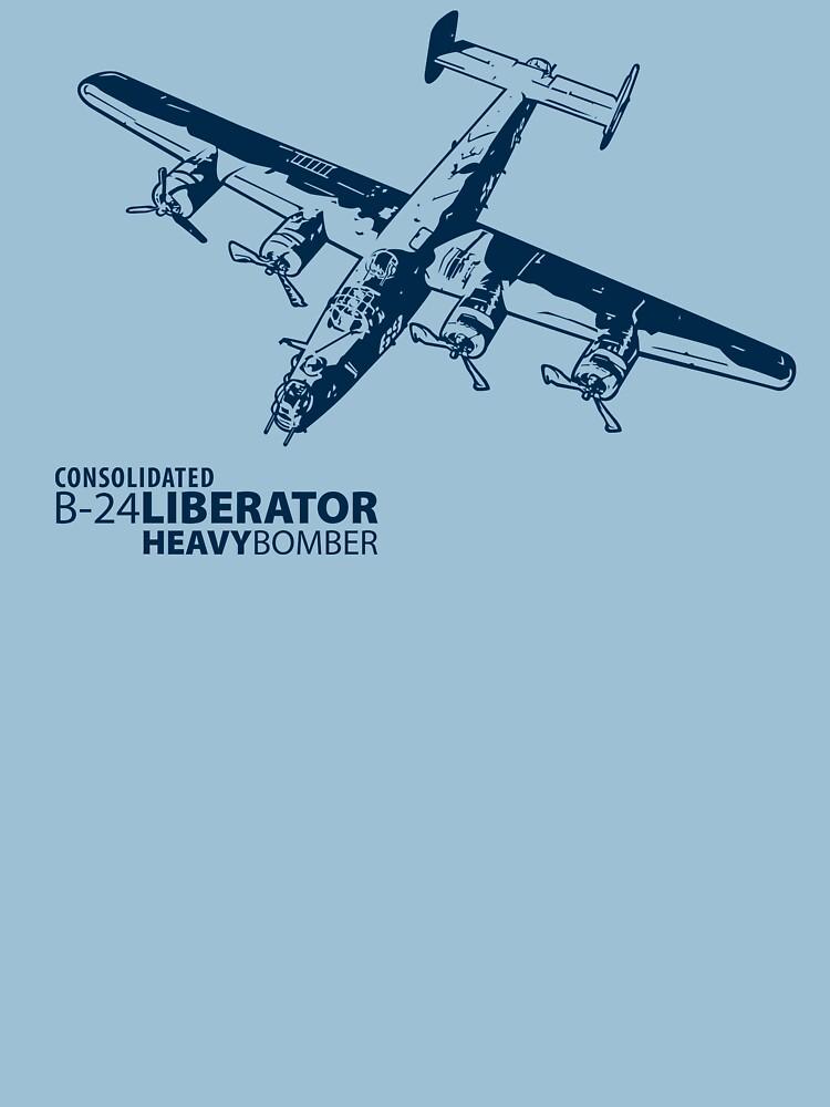 B-24 Liberator by b24flak