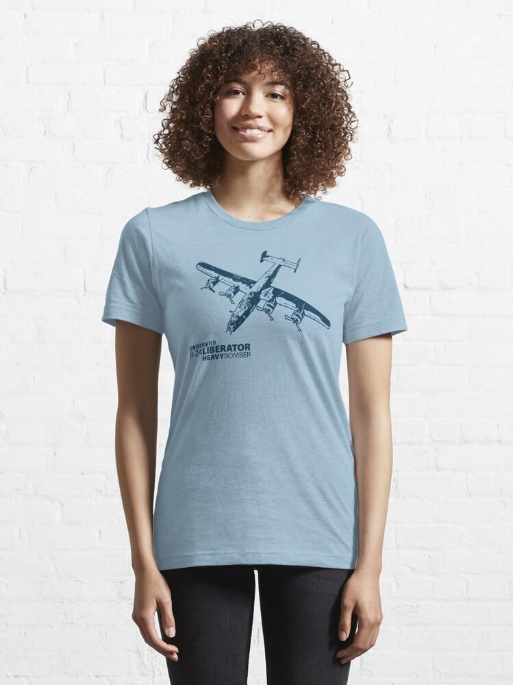 Alternate view of B-24 Liberator Essential T-Shirt