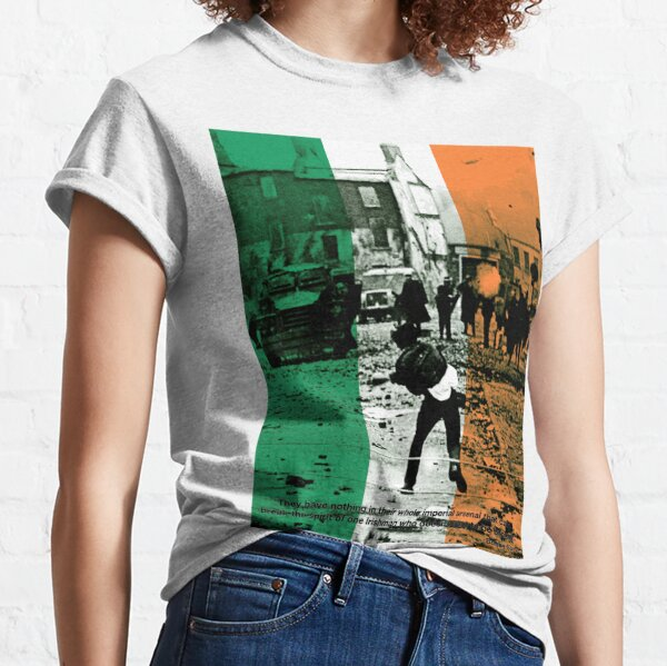 Bobby Sands - An Irishman who doesnt want to be broken. Classic T-Shirt