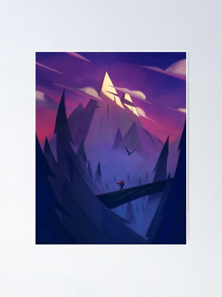 Alternate view of Celeste - Indie Game Poster