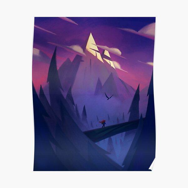 Celeste - Indie Game Poster