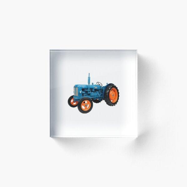 Fordson power major tractor  Acrylic Block