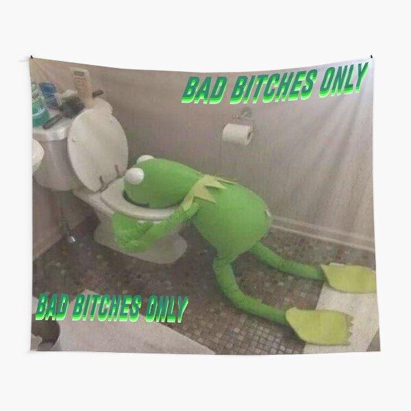 Bad B Kermit  Tapestry