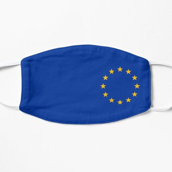 Europe, stars, flag, logo, European Union, symbol, EU Flat Mask