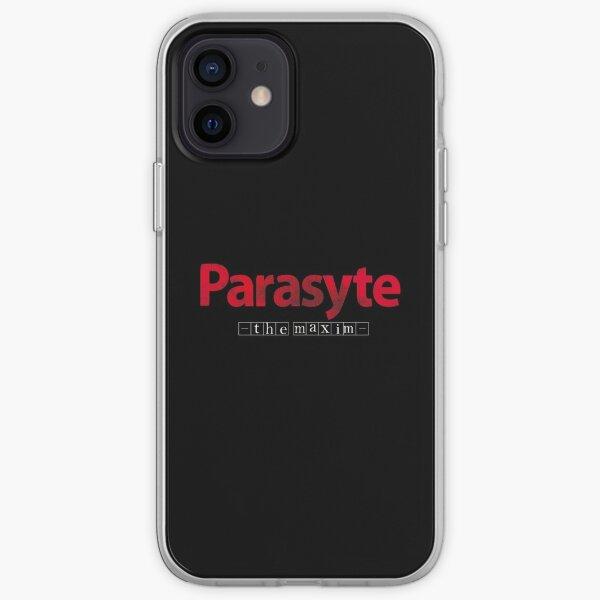 Anime Parasyte -the maxim- Logo iPhone Soft Case