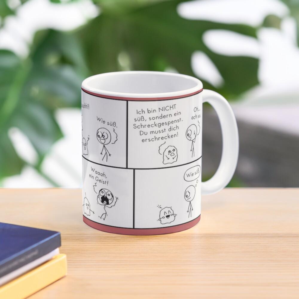 Erschrecken islieb Comic Tasse