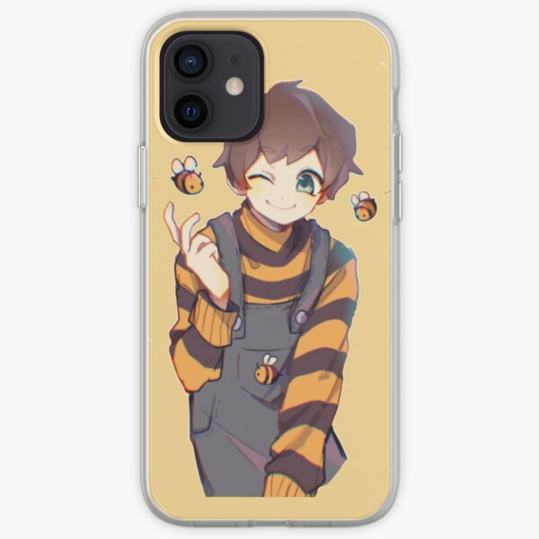 Tubbo with bees art iPhone Soft Case