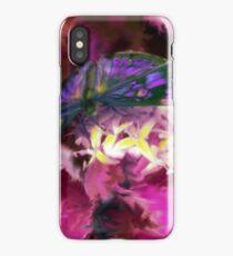 Purple Butterfly Art iPhone Case/Skin
