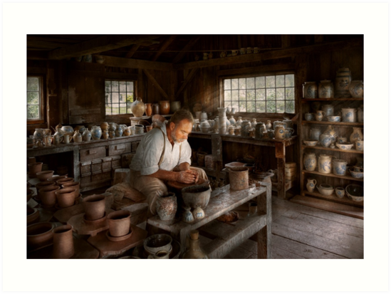Potter - Raised in the clay by Michael Savad