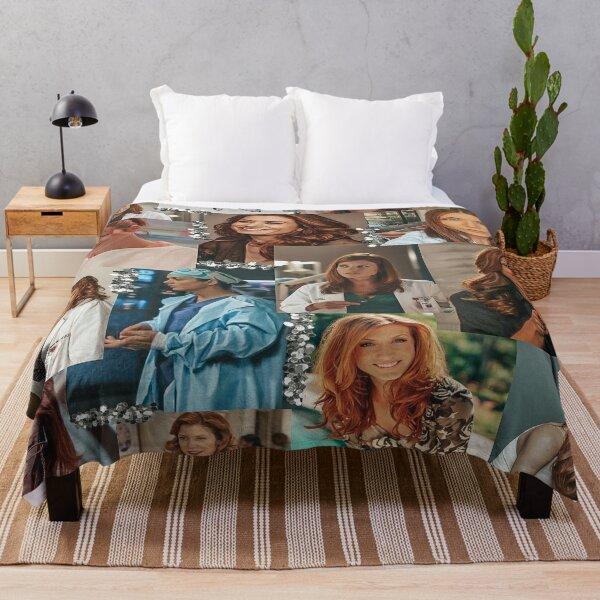 addison montgomery collage :) Throw Blanket
