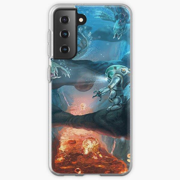 Subnautica ocean depth  Samsung Galaxy Soft Case