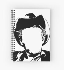 James - vacant expression Spiral Notebook