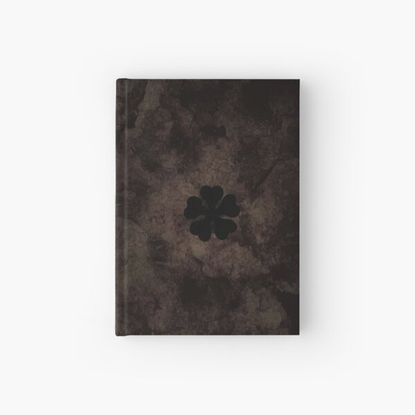 Five-Leaf Clover Book Asta Hardcover Journal