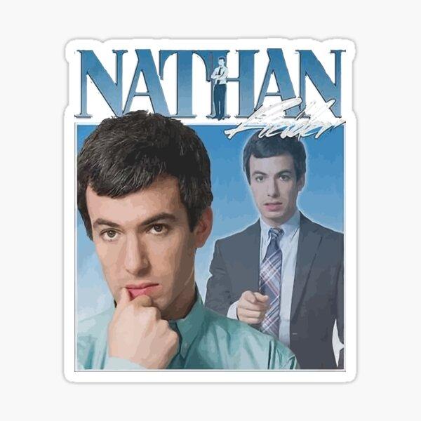 Nathan Fielder 90s Vintage Sticker