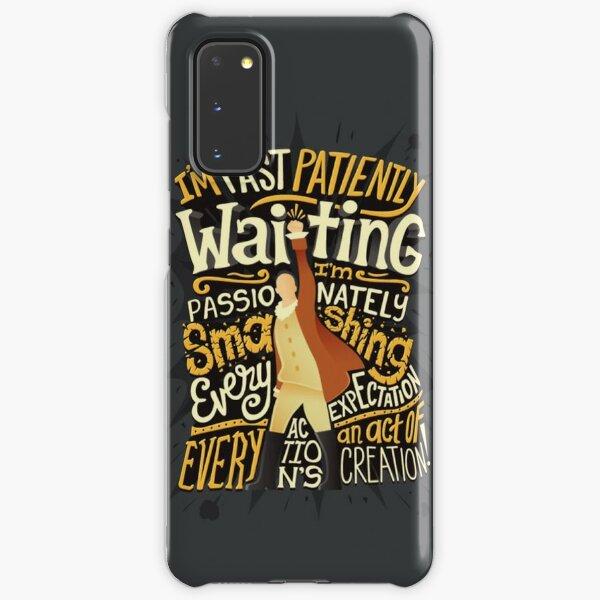 Hamiltion Typography Art Samsung Galaxy Snap Case