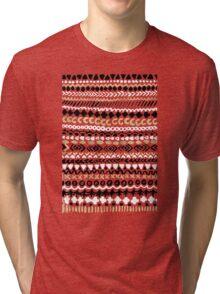 Black, White & Gold Tribal Tri-blend T-Shirt