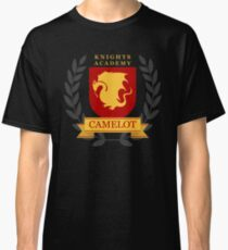 Camelot Knights Academy Print Classic T-Shirt