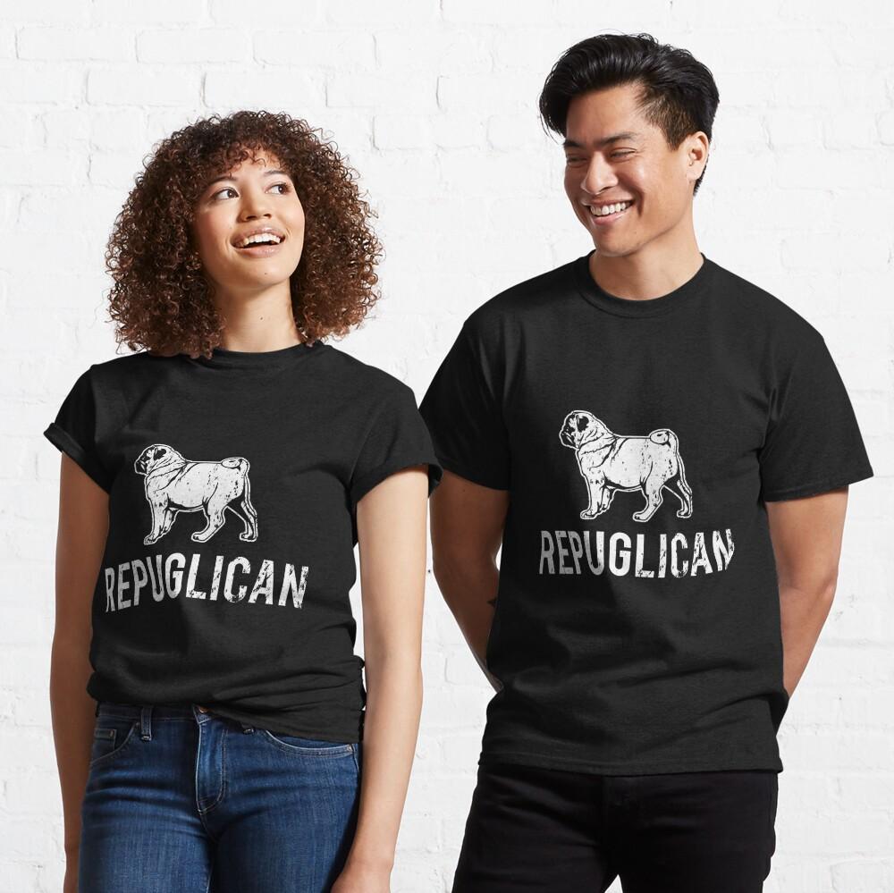 Repuglican Funny Dog Lovers English Bulldog Classic T-Shirt