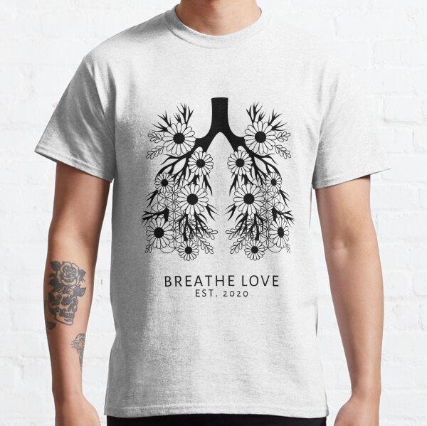 Breathe Love Merchandise, Light Classic T-Shirt