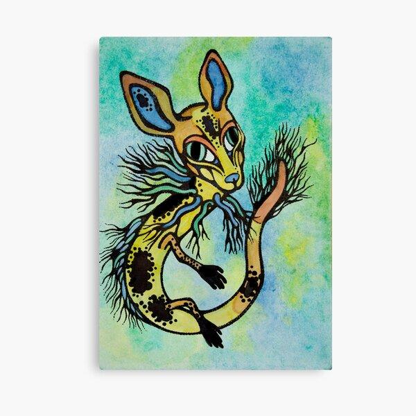 River Critter Canvas Print