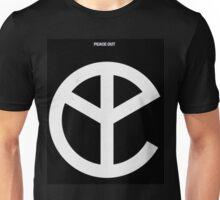 YMFC Peace Out Logo Unisex T-Shirt