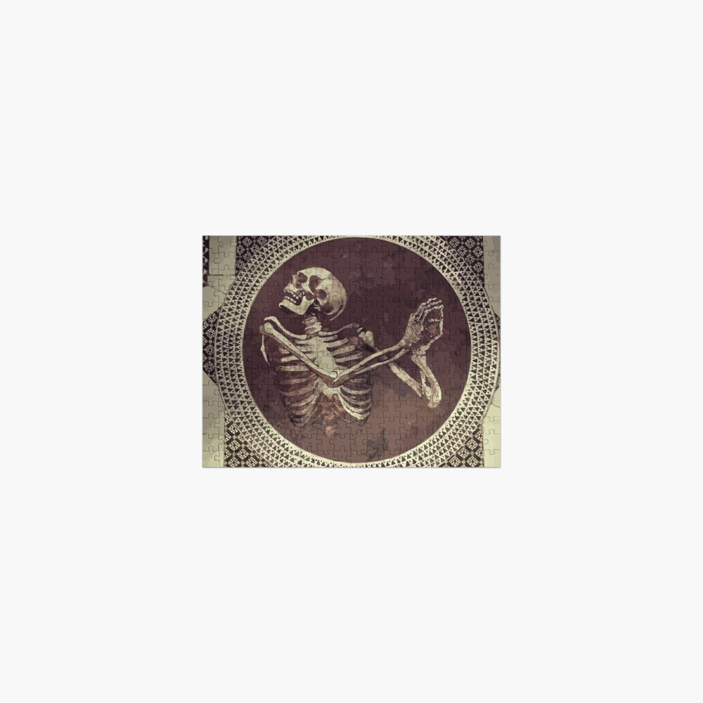 Hannibal: Dancing Skull + Skeleton Mosaic  Jigsaw Puzzle