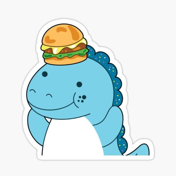 Moriah Elizabeth cousin derp the dinosaur Sticker