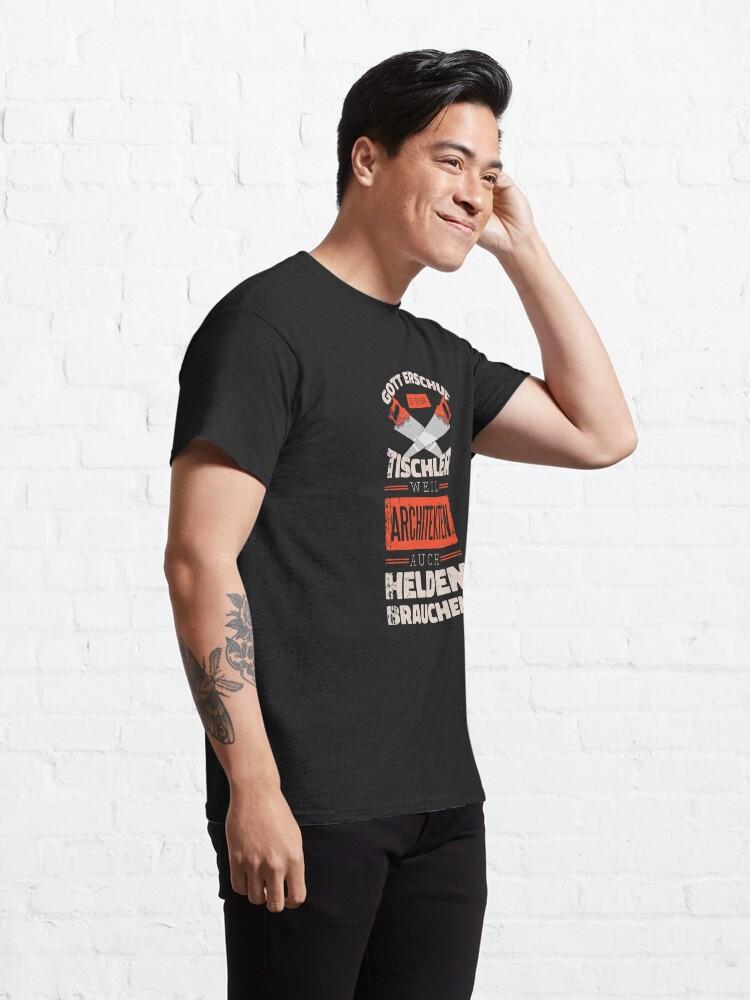 Alternative Ansicht von Tischler Helden Classic T-Shirt