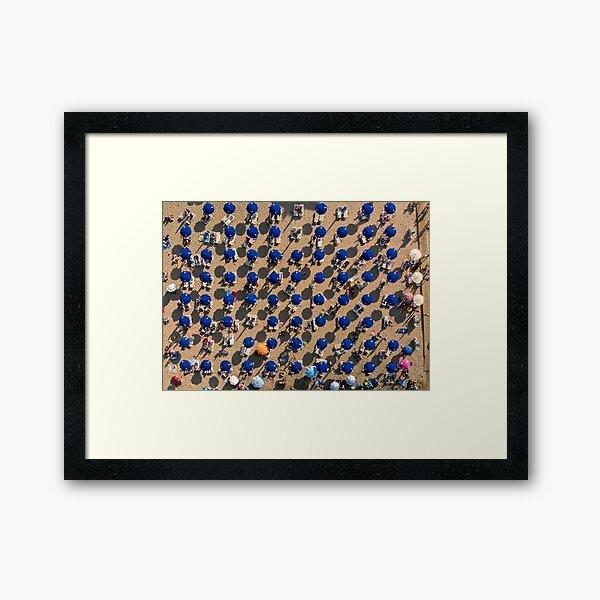 Summer Holidays - Protaras Framed Art Print