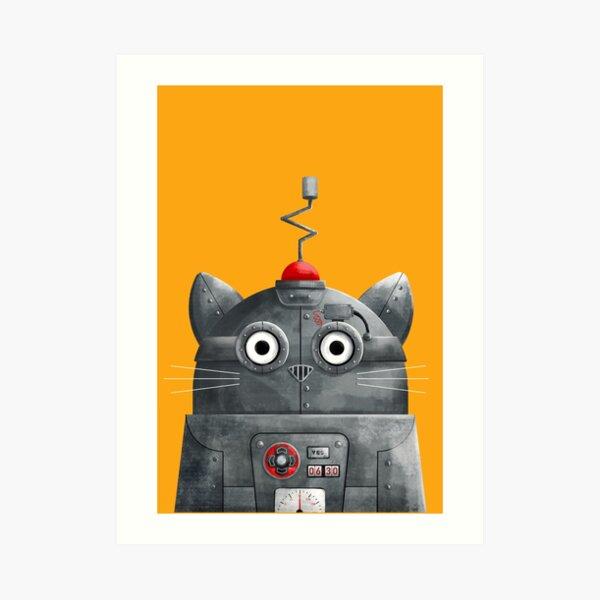 Cat Robot - C.A.T. Art Print