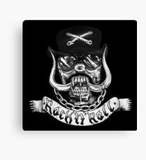 Lemmy Rest in Peace Canvas Print