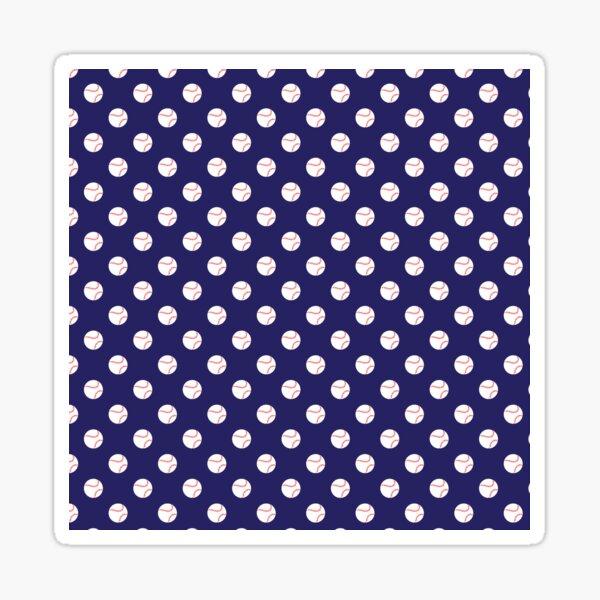 Fever Pitch (Navy) Sticker