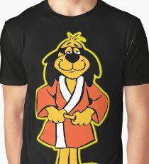 Hong Kong Phooey Standing Black Graphic T-Shirt