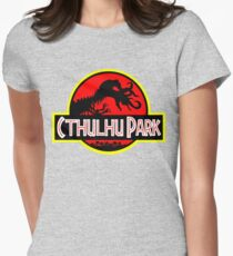 Cthulhu Park Womens Fitted T-Shirt