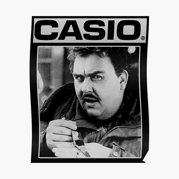 John Candy - Planes, Trains and Automobiles - Casio Poster
