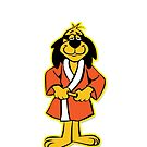Hong Kong Phooey Standing White by Gregory Colvin